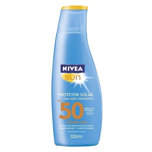 Protetor Solar Nivea Light Feeling FPS 50 125ml