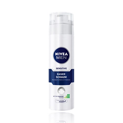 Espuma de Barbear Nivea For Men Sensitive 193g