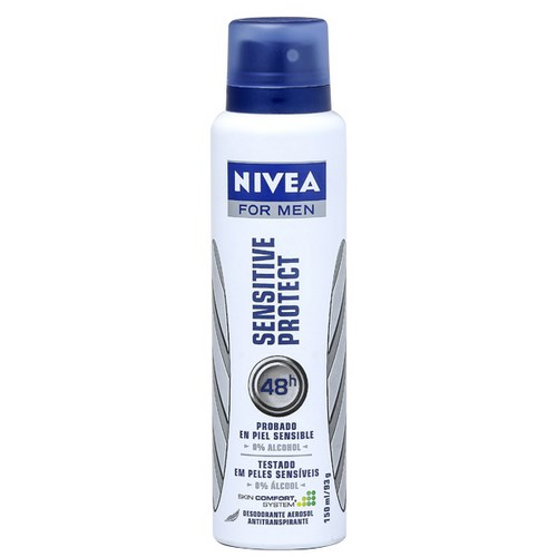 Desodorante Nivea Aerosol  Sensiteve For Men 150ml