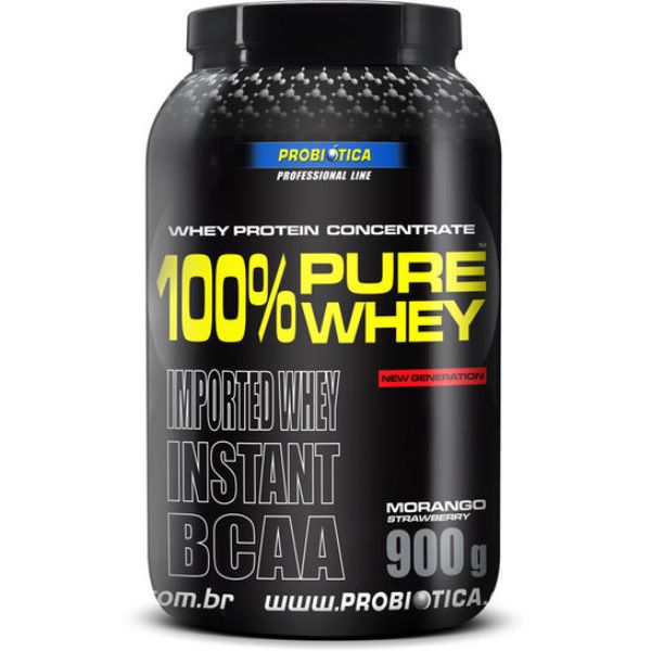 100% Pure Whey Protein Sabor Chocolate 900g